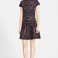 Women's KENZO Spray Stripe Jacquard Dress,