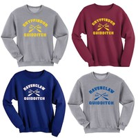 Ravenclaw Quidditch/gryffindor Quidditch Harry Potter Shirt Sweatshirt Sweater Shirt