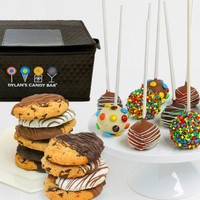Dylan's Candy Bar Hand-Dipped Cake Pops & Chocolate-Dipped Gourmet Cookies