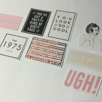 The 1975 Stickers - Set of 8