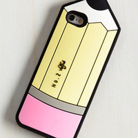 Kawaii, Quirky, Scholastic Collect Your Jots iPhone 6, 6s Case by ModCloth