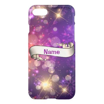 Purple Glow iPhone 8/7 Case