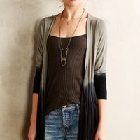 Dip-Dye Cardigan by Lats Black
