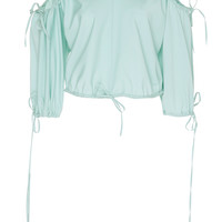 Open Shoulder Cropped Top | Moda Operandi