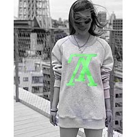 Louis Vuitton LV Retro Popular Women Men Leisure Letter Embroidery Long Sleeve Sweater Top Sweatshirt