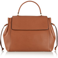 Lanvin - Nomad textured-leather tote