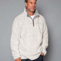 Frosty Tipped Pile 1/2 Zip Pullover