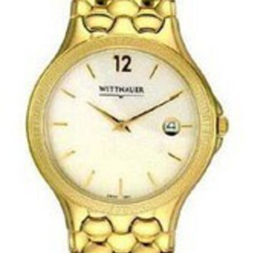 Wittnauer Men's Gold Watch 11B01