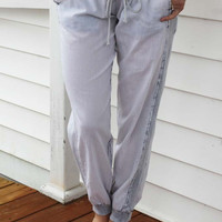 Blue Ice Joggers