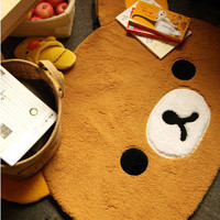 Rilakkuma San-X Bear Cute Dining Room Bedroom Mat Rug