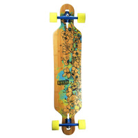 Riviera Longboards - WATER BLOSSOMS COMPLETE