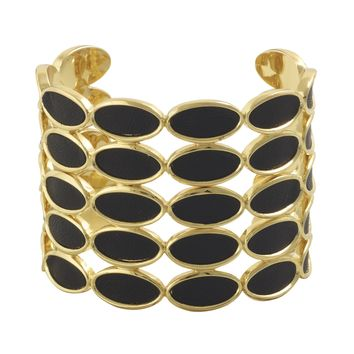 House of Harlow 1960 Jewelry Del Sol Leather Cuff