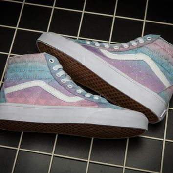 PEAPON Vans SK8 HI Colorful Low Tops Flats Shoes Canvas Sneakers Sport Shoes For Women