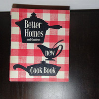 Vintage Better Homes and Gardens New Cook Book - Copyright 1953,  1st Edition 9th Printing - 5 Ring Binder - Vintage Collectible Cookbook