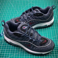 Nike Air Max 98 QS Thunder Blue | 924462-400 Sport Running Shoes - Best Online Sale