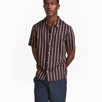 Lyocell Shirt Regular fit - from H&M