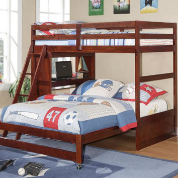 Cassel Twin over Full Study and Sleep Loft Bed