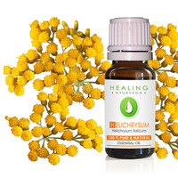 Helichrysum Italicaum- 100% Pure Helichrysum essential oil- Immortelle- Ayurvedic skin care oil- Aromatherapy oil- Undiluted Helichrysum oil