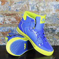 Supra Vaider Skate Shoes Trainers new in box Blue in UK Size 4,5,7,8,9,10,11,12