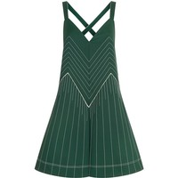 Valentino Contrast Stitch Mini Dress | Harrods.com