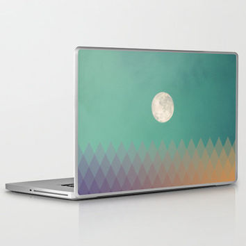 Blue Moon Laptop & iPad Skin by Galaxy Eyes | Society6
