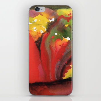 Second Bloom iPhone Skin by mariameesterart