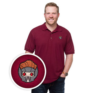 Star-Lord Kawaii Polo
