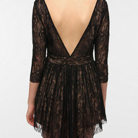 Urban Outfitters - Lovers & Friends Senorita Lace V-Back Dress