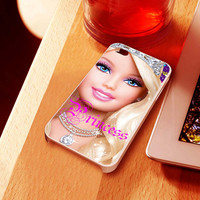 barbie princess - iPhone 4 Case ,iPhone 5 case,samsung galaxy S2, s3 and Samsung galaxy s4 Hard Plastic Case