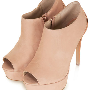 AMINA Cup Heel Shoe Boots - View All - Shoes - Topshop USA