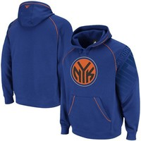 NBA Men's New York Knicks Hoops Pullover Hood (Blue, Small)