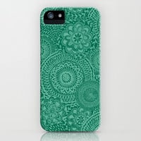 Mint Mosaic iPhone & iPod Case by Janet Broxon