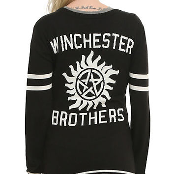 Supernatural Winchester Brothers Girls Cardigan