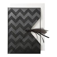 BLACK GLITTER CHEVRON, MERI MERI NEW!