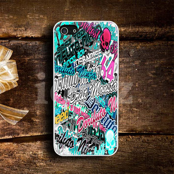 Sticker Bomb Artwork Design mobile Phone case