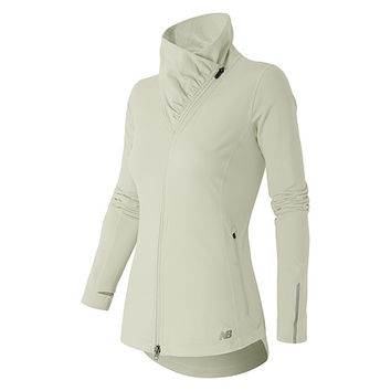 New Balance NB Heat En Route Jacket | Women's - Sea Salt