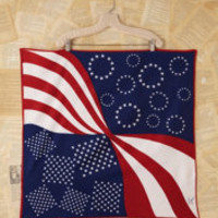 Vintage Flag Printed Scarf at Free People Clothing Boutique
