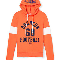 Denver Broncos Funnel-Neck Pullover - PINK - Victoria's Secret