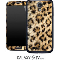 Real Leopard Skin for the Samsung Galaxy S4, S3, S2, Galaxy Note 1 or 2