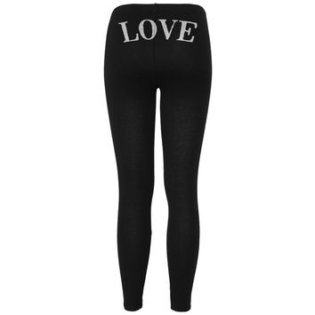 LOVE Black Women's Leggings