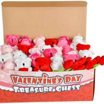 Valentine's Day Plush Toy Mix in Chest