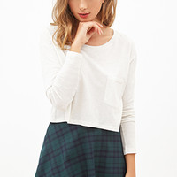 FOREVER 21 Boxy Pocket Top
