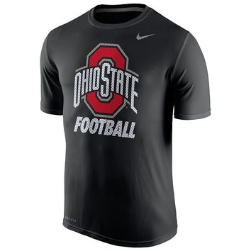 Nike Ohio State Buckeyes Football Legend Dri-FIT Performance Tee