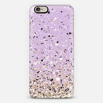 Lilac Party Confetti Explosion iPhone 6 case by Organic Saturation | Casetify