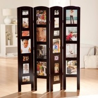 Memories Photo Frame Room Divider - 4 Panel:Amazon:Home & Kitchen