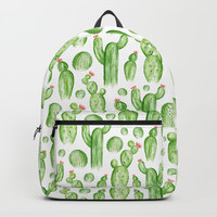 Cactus Garden Backpack by Heather Dutton