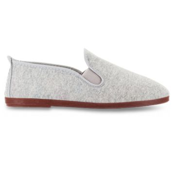 Flossy Shoes Flossy - Men's Arnedo Jersey Grey » West Of Camden