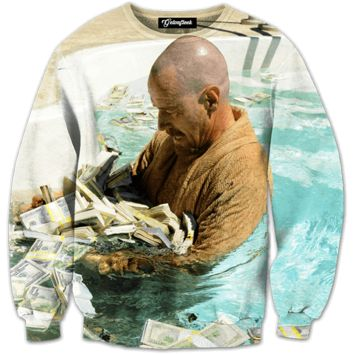 Breaking Bad Pool of Money Crewneck
