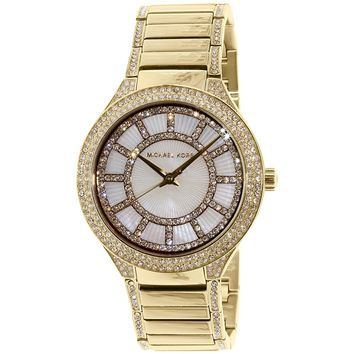 Michael Kors Women's Kerry MK3312 Gold Stainless-Steel Quartz Fashion Watch
