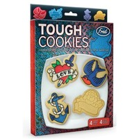 """Tough Cookies"" Cookie Cutters by Fred & Friends"